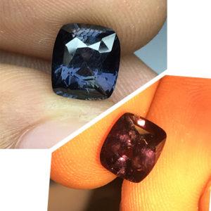 2.00  ct Natural Colour Change Sapphire