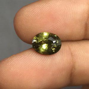 2.50 ctw Green Sapphire