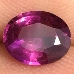 1.15 ctw Purple Sapphire