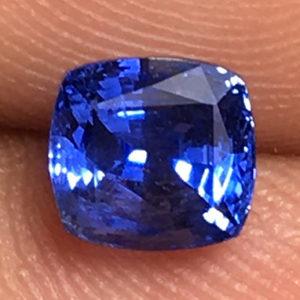 1 ctw Blue Sapphire